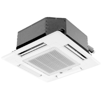 SLZ Ceiling Cassette Heat Pump.
