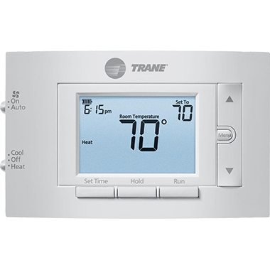 Trane XR202 thermostat.
