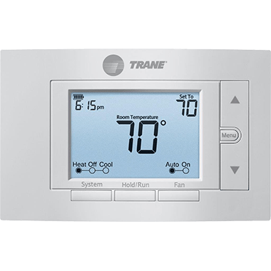 Trane XR203 thermostat.
