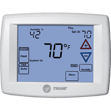 Trane XR303 thermostat.
