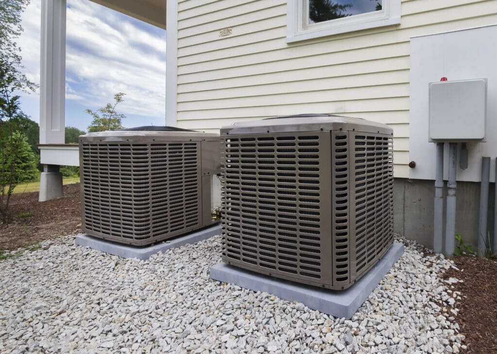 HVAC heating and air conditioning residential equipment